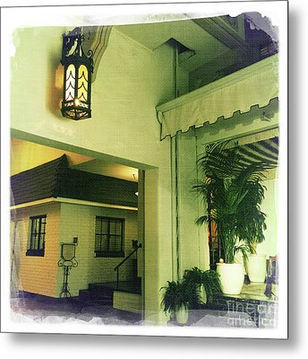 Chateau Marmont Metal Print by Nina Prommer