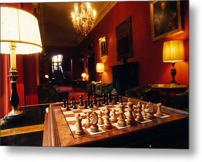 Checkmate At Dromoland Metal Print by Carl Purcell