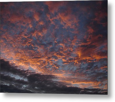 Chemical Sky Metal Print by Chad Natti