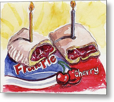 Cherry Pie Indulgence Metal Print