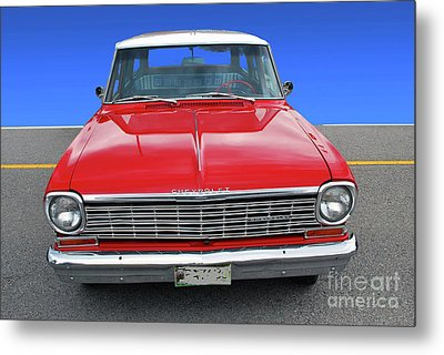 Metal Print featuring the photograph Chev Wagon by Bill Thomson