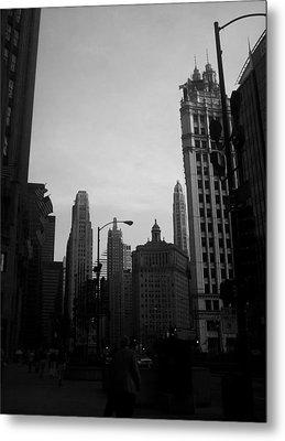 Chicago 4 Metal Print