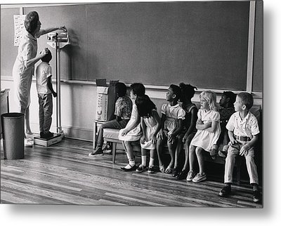 Children Of Migrant Workers Metal Print by Everett