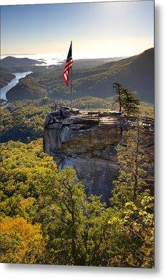 Chimney Rock State Park North Carolina Metal Print by Dustin K Ryan