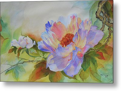 Chinoiserie Metal Print by H S Craig