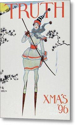 Christmas 1896 Metal Print