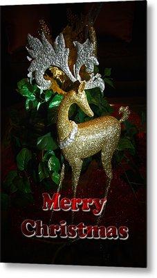 Christmas Card Metal Print by Chris Brannen