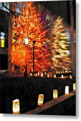 Christmas Light Metal Print