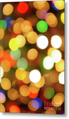 Christmas Lights Metal Print by Carlos Caetano
