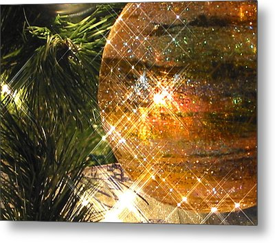 Metal Print featuring the photograph Christmas Magic by Diane Merkle