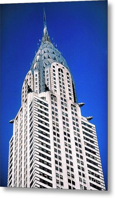 Chrysler Building Metal Print