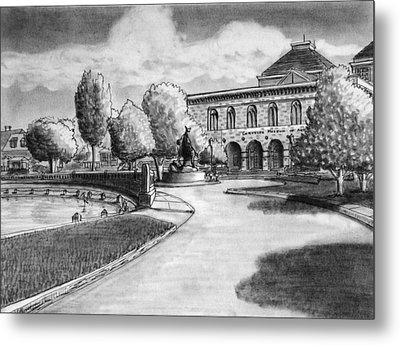 Chrysler Museum Norfolk Metal Print by Vic Delnore