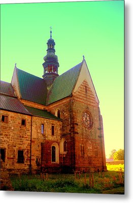 Church Of The Blessed Virgin Mary And St. Florian In The Wachock Metal Print