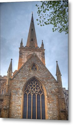 Church Of The Holy Trinity Stratford Upon Avon 1 Metal Print by Douglas Barnett