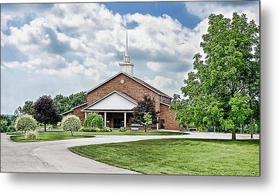 Church On Coldwater Metal Print