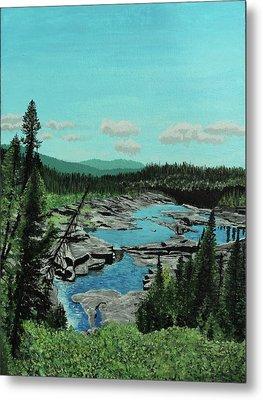 Churchill River Metal Print