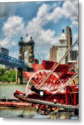 Cincinnati Landmarks 1 Metal Print