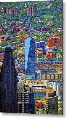 Metal Print featuring the photograph Cira Centre 2929 Arch Street Philadelphia Pennsylvania 19104 by Duncan Pearson