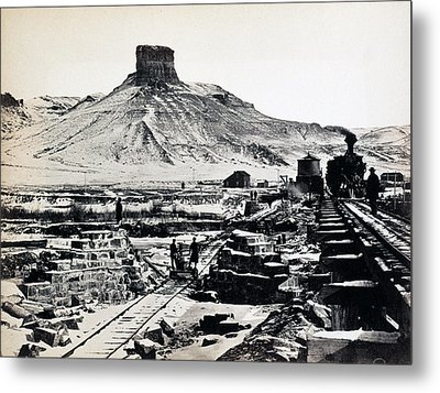 Citadel Rock, Green River Valley Metal Print