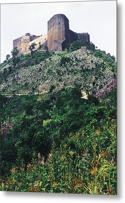 Citadelle Of Henry Christophe Metal Print by Johnny Sandaire