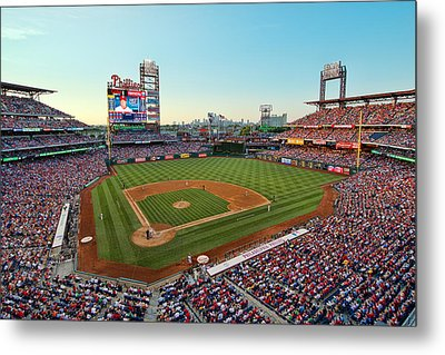 Citizens Bank Park - Philadelphia Phillies Metal Print by Mark Whitt