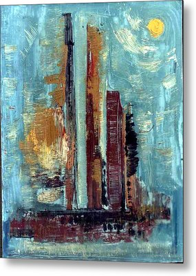 City Abstraction Metal Print by Anand Swaroop Manchiraju