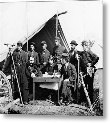 Civil War: Engineers, 1862 Metal Print
