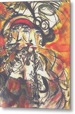 Clarenet Metal Print by David Grudniski