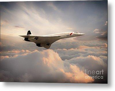 Classic Concorde Metal Print by J Biggadike