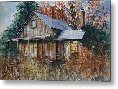 Clayton's Place Metal Print by Mary Jo Jung