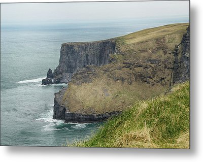 Metal Print featuring the photograph Cliffs Of Moher 1 by Marie Leslie