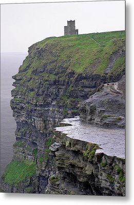 Cliffs Of Moher Ireland Metal Print by Charles Harden