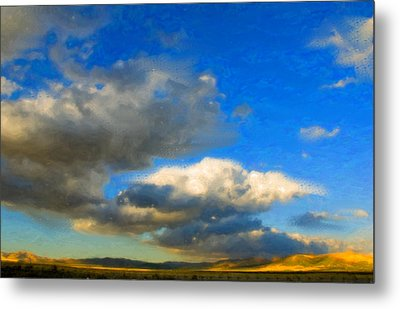 Clouds Metal Print by Betty LaRue