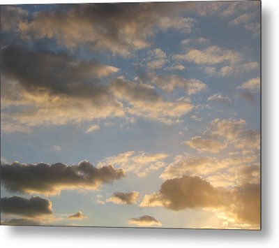 Clouds Metal Print by Hasani Blue