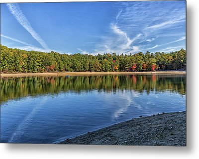 Clouds Over Walden Pond Metal Print by Brian MacLean