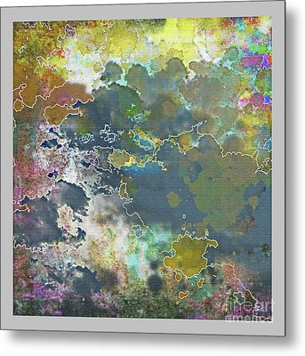 Clouds Over Water Metal Print