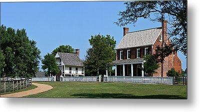 Clover Hill Tavern Appomattox Court House Virginia Metal Print by Teresa Mucha