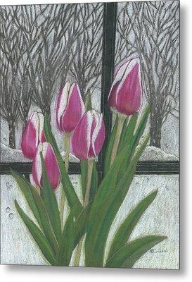 C'mon Spring Metal Print by Arlene Crafton