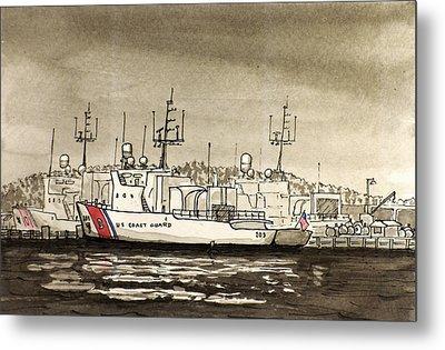 Coast Guard Base Portsmouth Metal Print