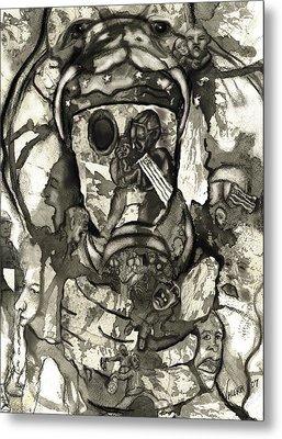 Cobra Metal Print by Valera Ainsworth