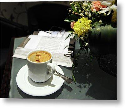 Coffee Break Metal Print by Graham Taylor