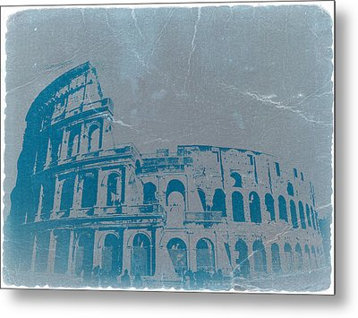 Coliseum Metal Print by Naxart Studio