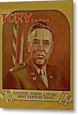 Colonel Joseph J. Healy Metal Print