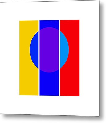 Color And Form Metal Print by Charles Stuart
