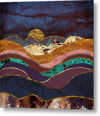 Color Fields Metal Print by Katherine Smit