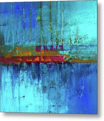 Color Pond Metal Print by Nancy Merkle