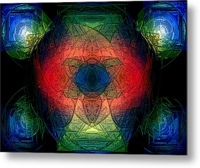 Color Study Metal Print by Patrick Guidato