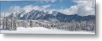 Metal Print featuring the photograph Colorad Winter Wonderland by Darren White