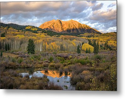 Colorado Sunrise Metal Print by Phyllis Peterson