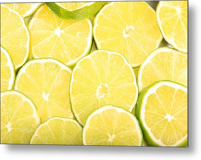 Colorful Limes Metal Print by James BO  Insogna